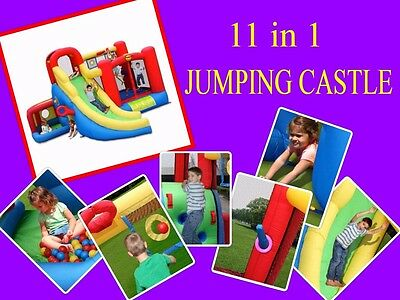 9406 11 in 1 Jumping Castle