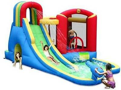 Happy Hop Wet & Dry Jumping Castle and Slide