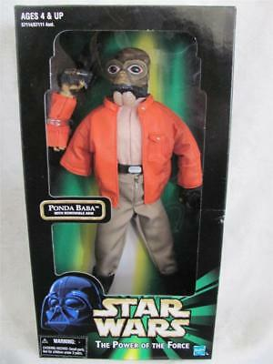Star Wars The Power Of The Force Ponda Baba With Removable Arm Mib 1998