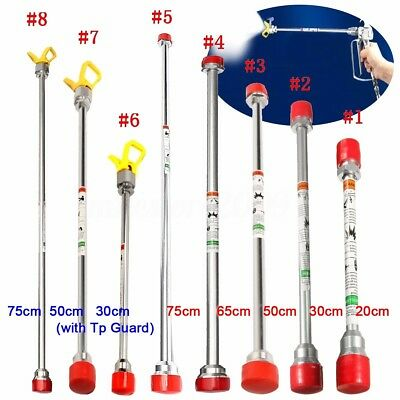 Airless Paint Spray Gun Extension Pole Sprayer Tip Rod For Titan Wagner Tools