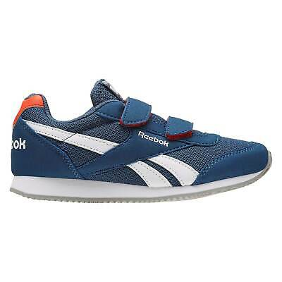 Reebok Boys Classic Jogger RS Kids Trainers Shoes Ortholite Tonal Stitching