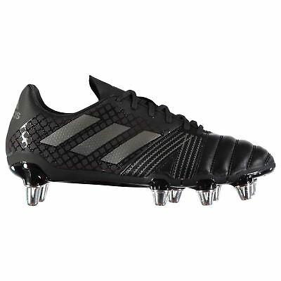 adidas Mens Kakari SG Rugby Boots Shoes Lace Up Studs Padded Ankle Collar