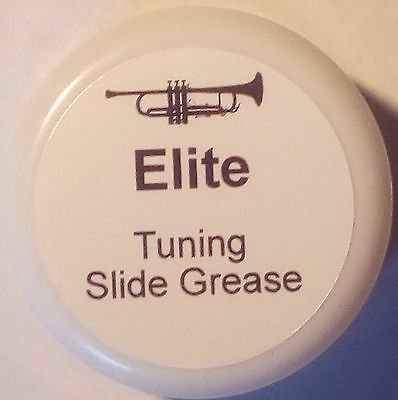 Elite Baritone Tuning Slide Grease, Synthetic Grease With PTFE LARGE 10g POT