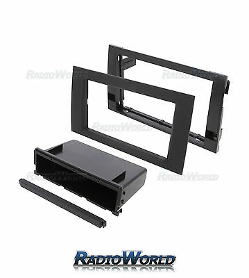 Audi A4 B6 B7 Single or Double Din Stereo Facia /Fascia Adaptor Panel