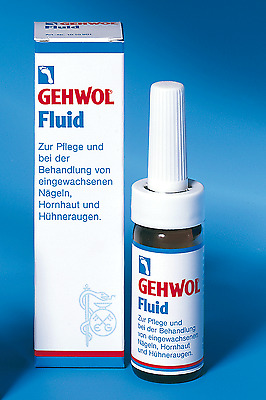 Gehwol Fluid 15ml - For Care & Treatment of Ingrown Toe Nails, Calluses & Corns
