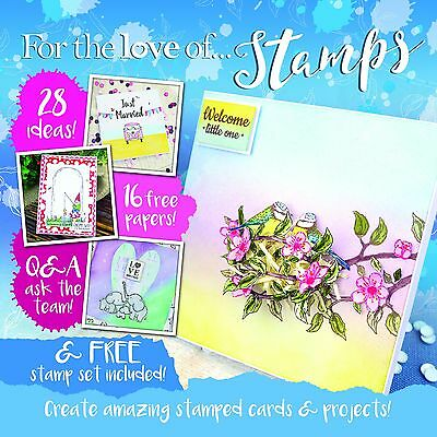 Hunkydory For the Love of Stamps Magazine - Issue 3 ~ Free Stamp Set!