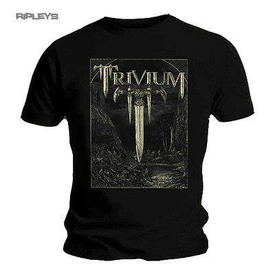 Official T Shirt Black TRIVIUM Metal The Crusade BATTLE Sword All Sizes