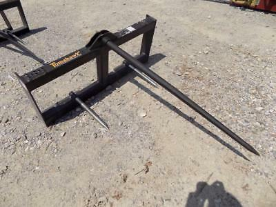 New Tomahawk Hd Hay Bale Spear Frame, Ssl Quick Attach, Fits Many Makes/models