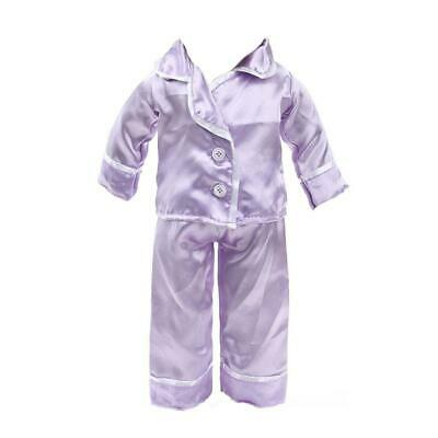Trendy Pajamas PJS Nightgown Jumpsuit Outfit for 18'' American Doll Costume
