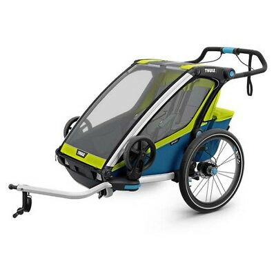 Thule Chariot Sport 2 17 2 Places Lime   Blue