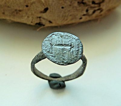 Medieval bronze ring  (316).