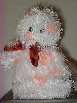 Ty Punkies ~ SCREAMERS the Ghost ~ MINT with MINT TAGS (Sticker) ~ RETIRED