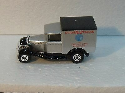 Matchbox Superfast Mb38 Ford Pre Pro Nurdin Peacock Silver Body See Pic