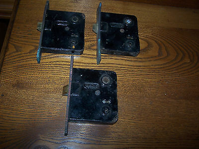 3 Antique Mortise Door Locks And Latches