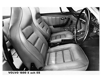 1971 1972 ? Volvo 1800E 1800ES Interior Factory Photo ca8684