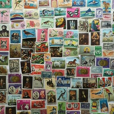 200 Different Panama Stamp Collection - Pictorials only