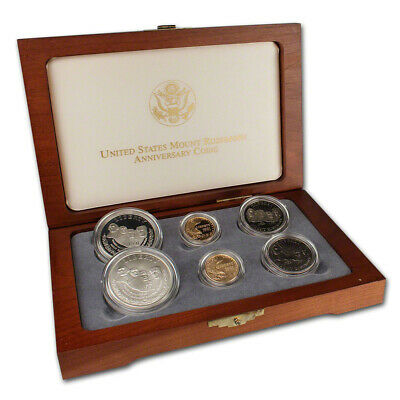 1991 US Mount Rushmore 6-Coin Commemorative Set