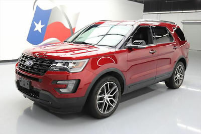2017 Ford Explorer Sport Sport Sport Utility 4-Door 2017 FORD EXPLORER SPORT AWD ECOBOOST NAV LEATHER 7PASS #B16583 Texas Direct