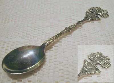 Silverplate Travel Souvenir Spoon LEBANON Cyprus Tree Made in Holland