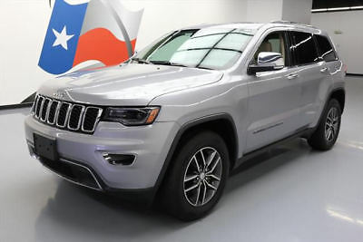 2017 Jeep Grand Cherokee Limited Sport Utility 4-Door 2017 JEEP GRAND CHEROKEE LIMITED PANO ROOF NAV 22K MI #663863 Texas Direct Auto
