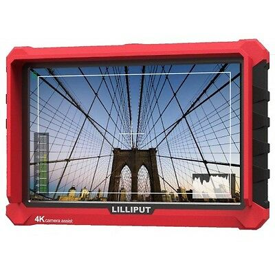 "LILLIPUT 7""  Model  A7s 4K HDMI 1.4 30Hz Field Monitor W/F970 battery Plate"