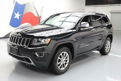 2015 Jeep Grand Cherokee Limited Sport Utility 4-Door 2015 JEEP GRAND CHEROKEE LIMITED 4X4 NAV REAR CAM 48K #607867 Texas Direct Auto