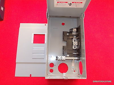 Siemens W0408ML1125 Main Lug Load Center 125 AMP 4 SPACE BREAKER BOX PANEL 125A