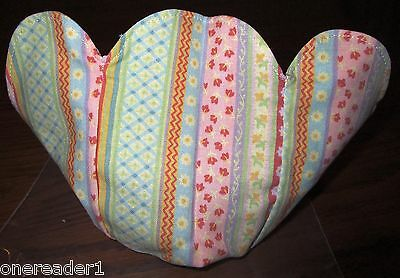 2008 Longaberger Small Easter Basket SPRING PARADE LINER - NEW IN BAG
