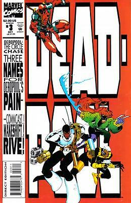 DEADPOOL THE CIRCLE CHASE #3 VF, Mini-Series, Stiff Cover, Marvel Comics 1993