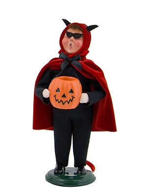 Byers Choice Halloween Boy in Devil Costume 2017 Spooky Devilish Trick or Treat!