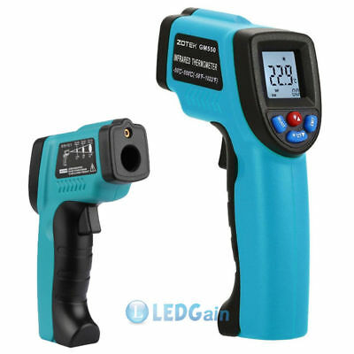 -58 to 1022℉ Non-Contact IR Infrared Laser Digital Temperature Thermometer Gun