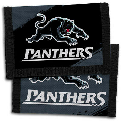 98708 Penrith Panthers Nrl Team Logo Kids Nylon Wallet Gift Idea