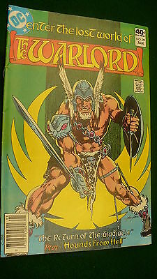 The Warlord Vol 5 No 29  bronze age January 1980 DC Super Star hero Mike Grell