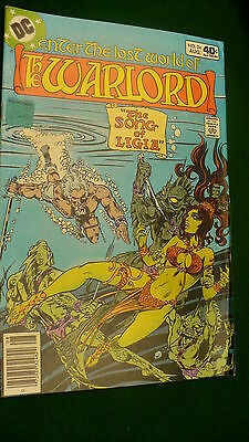 The Warlord Vol 4  No 24  bronze age August 1979 DC Super Star hero Mike Grell