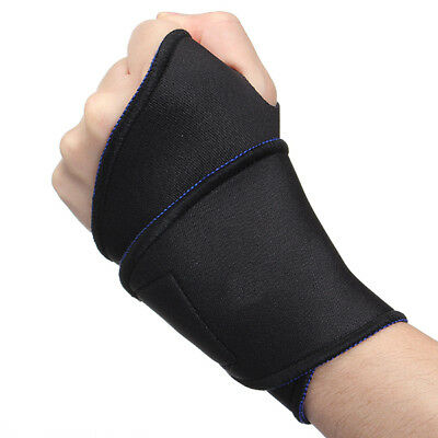 Protection Protège Bracelet Support Orthèse Poignet Palm Main Bandage Sport Gym