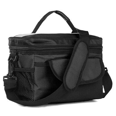 Portable Thermal Compartment Cooler Insulated Lunch Bag Picnic Work Waterproof