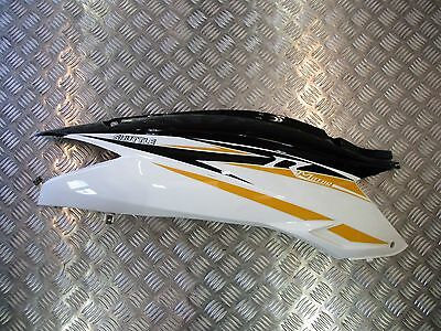 Sinnis Shuttle 125 2016 R/h Right Side Tail Seat Panel Black White [Unit Door]