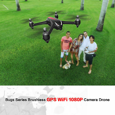 MJX B2W Bugs Drone WiFi FPV Brushless 1080P HD Camera GPS Quadcopter Helicopter