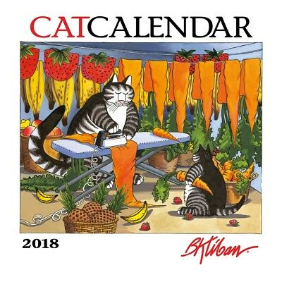 2018 B.Kliban Cat Wall Calendar