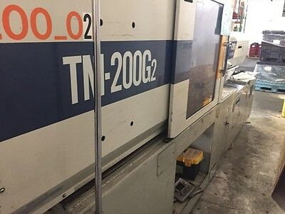 200 Ton, 13.24 Oz. Toyo Injection Molding Machine '93