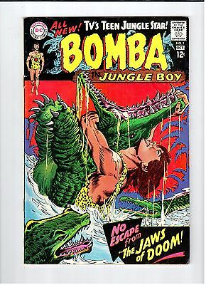 DC Comics BOMBA THE JUNGLE BOY #1 - VG Oct 1967 Vintage Comic