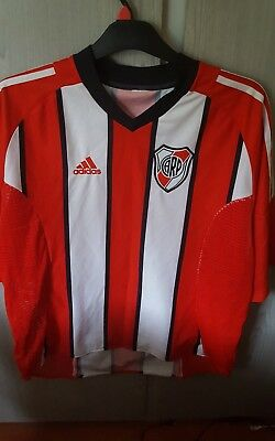 Mens  River Plate Football Club Adidas Shirt Size Large