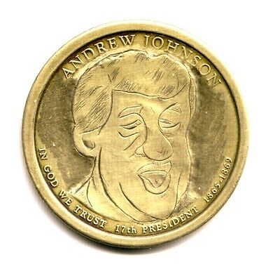 2011 Hobo Dollar of Donald Trump, carved years before he became President