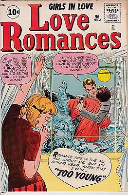 Love Romances #96 Stan Lee & Jack Kirby VG+ 4.5 1961 Male Pub See My Store