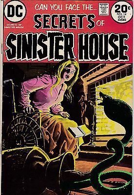 Secrets Of Sinister House #14 VG+ 4.5 1973 DC See My Store