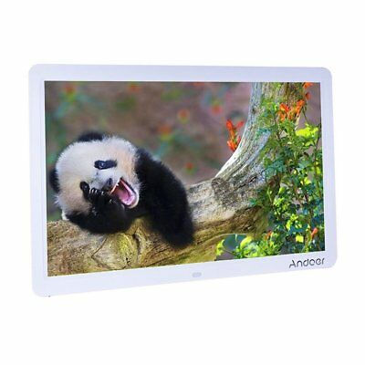 Andoer 15 inch Wide Screen HD LED Digital Picture Frame High Resolution 1280 x