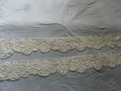 Two Lovely Vintage Handmade Laces