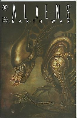 Aliens: Earth War #1 (Of 4) (Dark Horse) 1990 (1St Print)