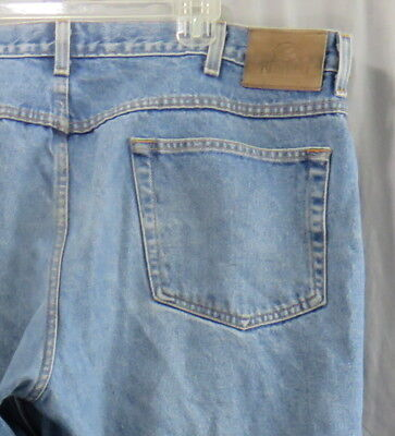 Bass Pro RedHead Relaxed Fit Blue Denim Jeans 40 x 32 Pants 100% Cotton