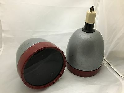 2 Kodak Darkroom Model A Lamps with Darkroom filters